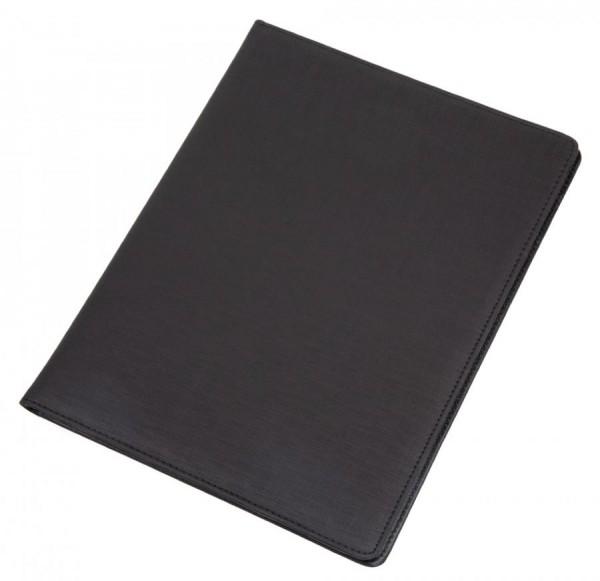 Alassio Schreibmappe ´BALOCCO´, DIN A4, schwarz