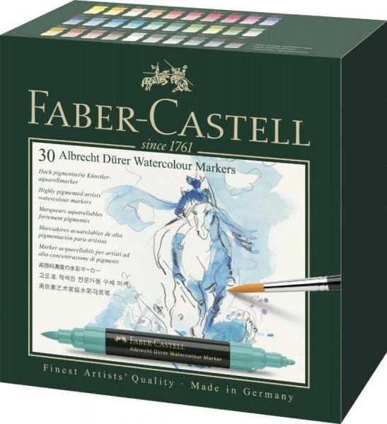 FABER-CASTELL Aquarellmarker ALBRECHT DÜRER, 30er Etui