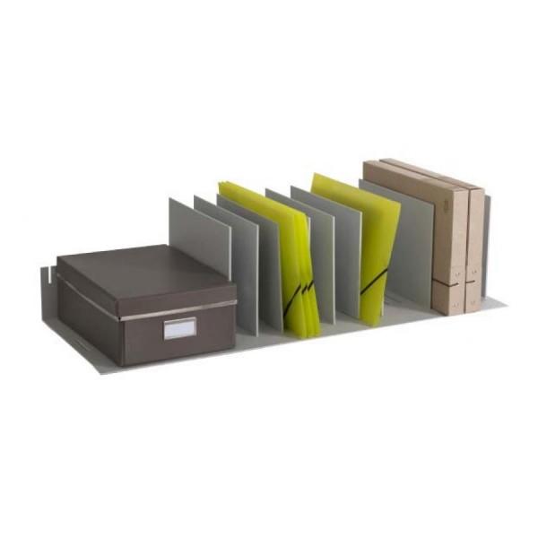 PAPERFLOW Belegfach, flexible Einteilung, grau