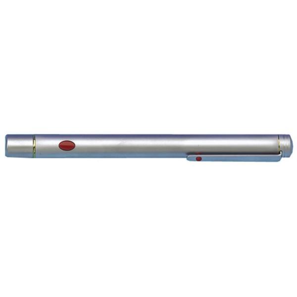 WEDO Pfeil-Laserpointer, Reichweite: 50 m, silber