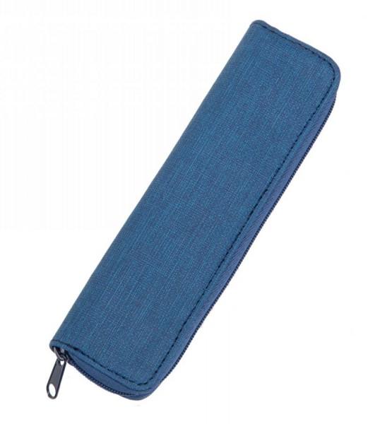 Alassio Schreibgeräte-Etui, für 2 Stifte, blau