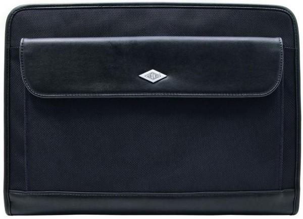 WEDO Konferenzmappe Elegance, A4, Kunstleder/Nylon, schwarz