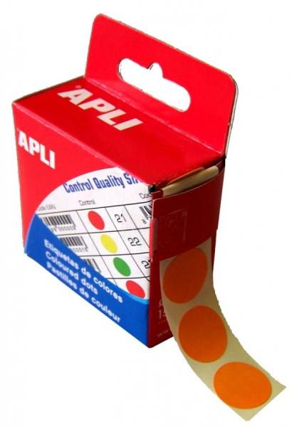 agipa Markierungspunkte, Durchmesser: 15 mm, rund, orange