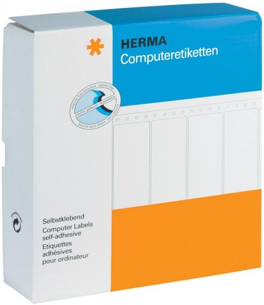 HERMA Computeretiketten endlos, 81,28 x 35,7 mm, 4-bahnig