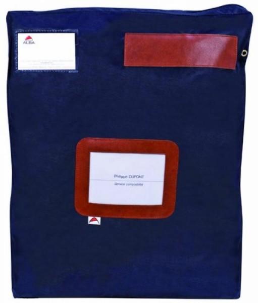 ALBA Banktasche ´POCSOUGM´ mit Dehnfalte, aus Nylon, blau