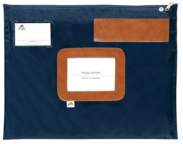 ALBA Banktasche ´POPLAT B´, aus Nylon, blau