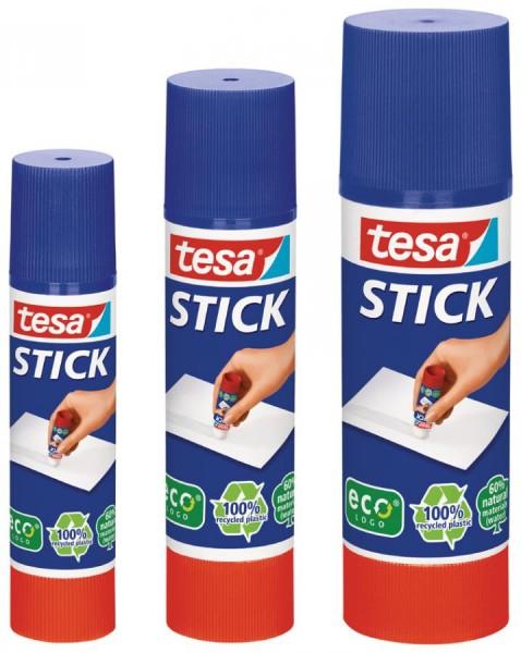 tesa ecoLogo Stick Klebestift, lösungsmittelfrei, 20 g