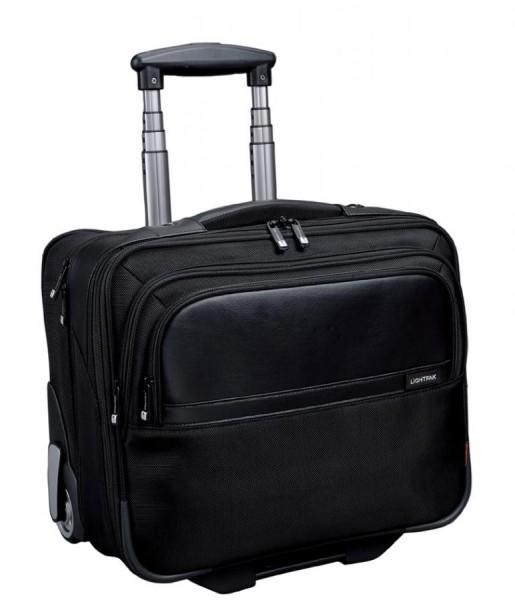 LiGHTPAK Business Notebook-Trolley ´BRAVO´, Nylon, schwarz