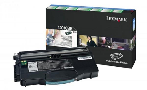 LEXMARK Lexmark Toner schwarz, 2.000 Seiten, 12016SE