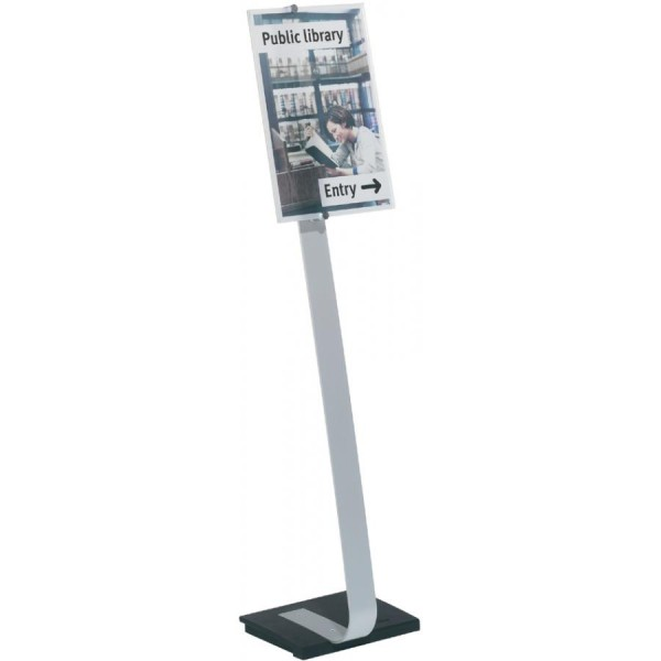 DURABLE Infoständer CRYSTAL SIGN stand, DIN A3