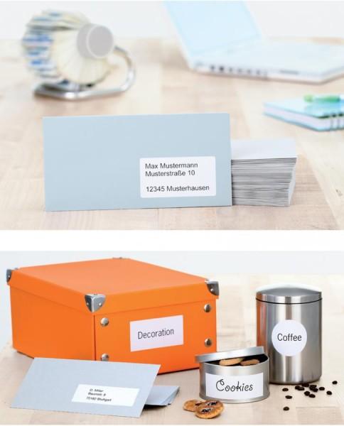 HERMA Universal-Etiketten Recycling, 99,1 x 67,7 mm