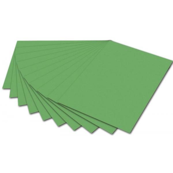 folia Fotokarton, DIN A4, 300 g/qm, smaragdgrün