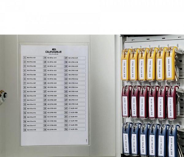 DURABLE Schlüsselkasten KEY BOX 12, für 12 Schlüssel