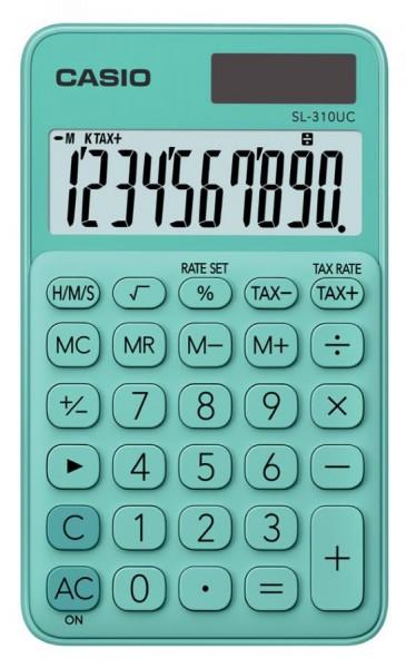 CASIO Taschenrechner SL-310UC-GN, grün