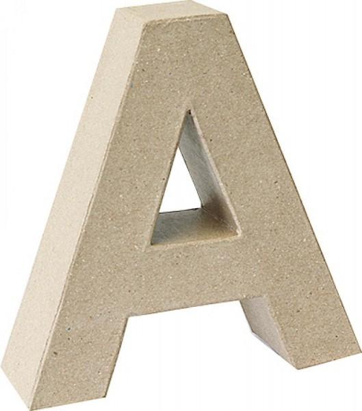 KNORR prandell 3D-Buchstabe ´A´, Pappmaché, 175 x 55 mm