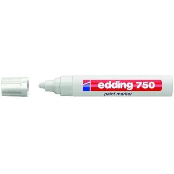 Edding 750 Glanzlack-Marker creative - 2 - 4 mm, weiß