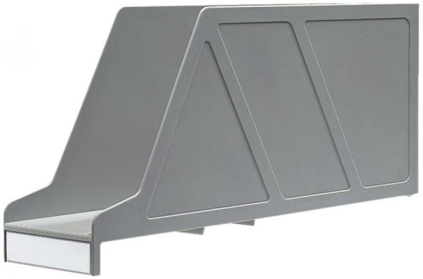 LEITZ Stehsammler OrgaClass, für Einstellmappen, grau
