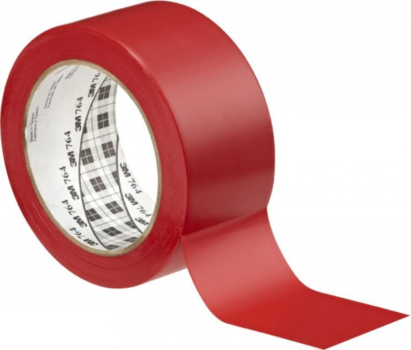 3M Weich-PVC-Klebeband 764i, 50,8 mm x 33 m, rot