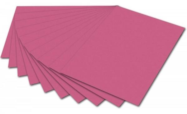 folia Fotokarton, DIN A4, 300 g/qm, altrosa