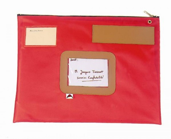 ALBA Banktasche ´POPLAT´, aus Nylon, rot