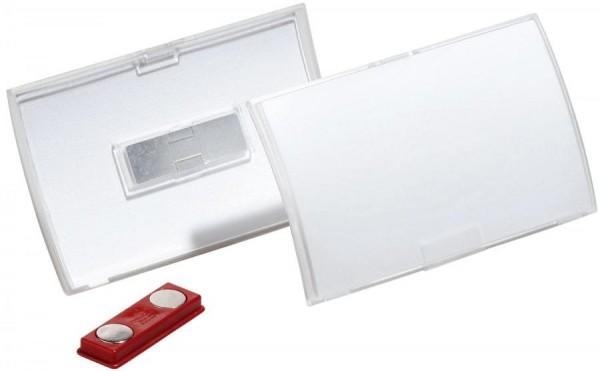 DURABLE Namensschild Click Fold, mit Magnet, 75 x 40 mm